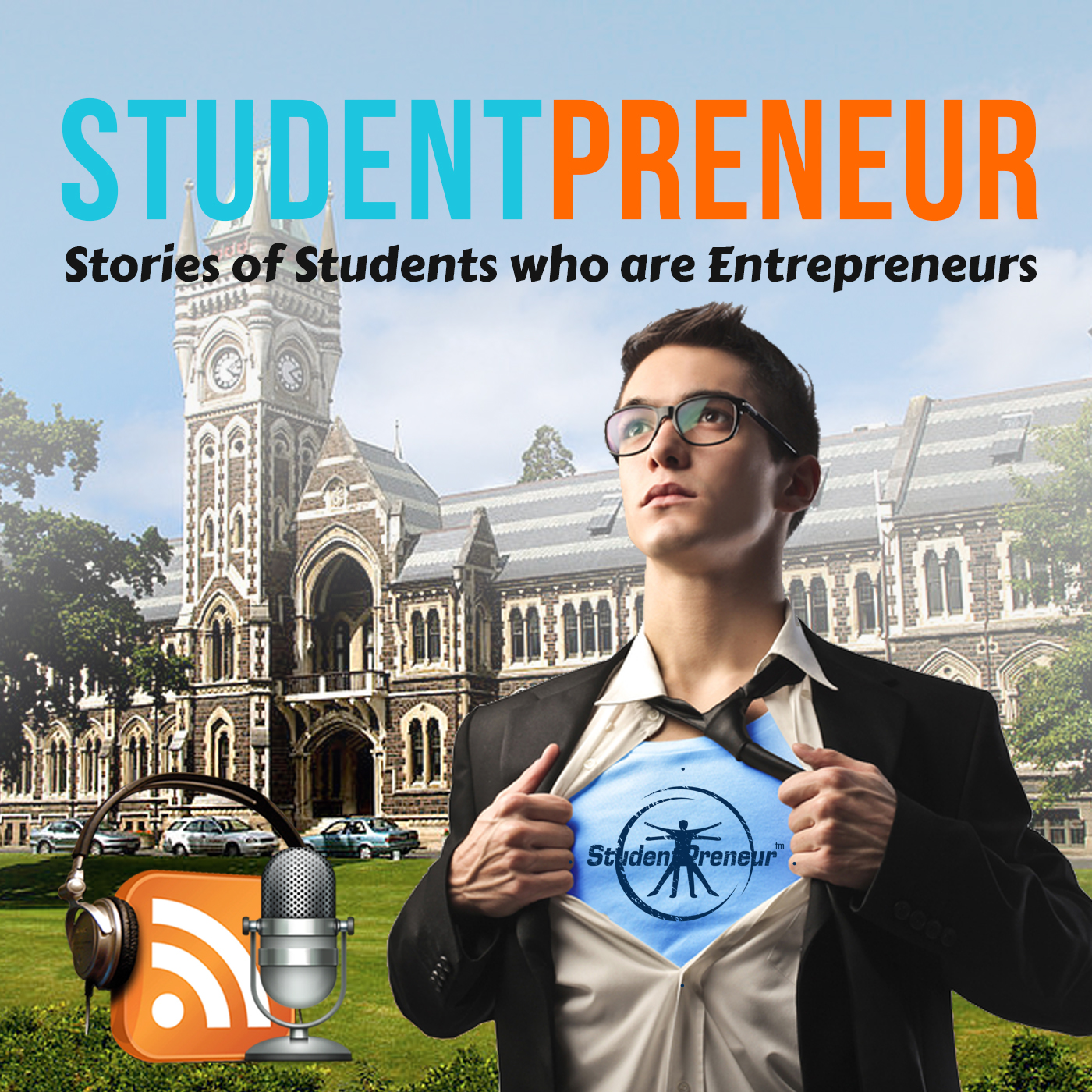 Artwork for #31: Studentpreneur + McKinsey consultant + MBA Studentpreneur = Gideon or how the entrepreneurial journey is not a straight line
