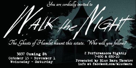 Episode 94 - Bill Grennan of Walk the Night - the ghosts of Hamlet and an interactive theater experience
