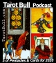 Artwork for The Tarot Bull Podcast: Five of Pentacles & Cards for 2020