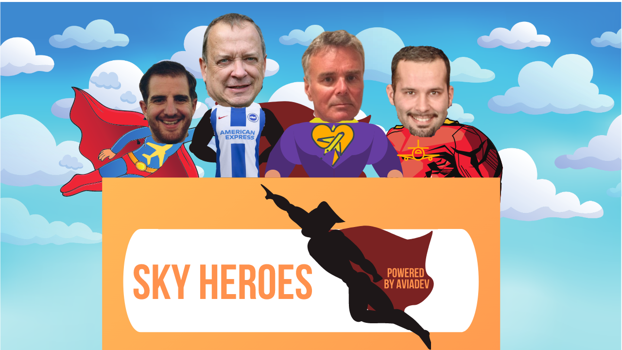Episode 103. Aviation Talkshow SkyHeroes_The April Edition