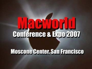 MacWorld Expo 2007 Video Report(Day One)