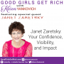 Artwork for 070 - Janet Zaretsky - Your Confidence, Visibility, and Impact