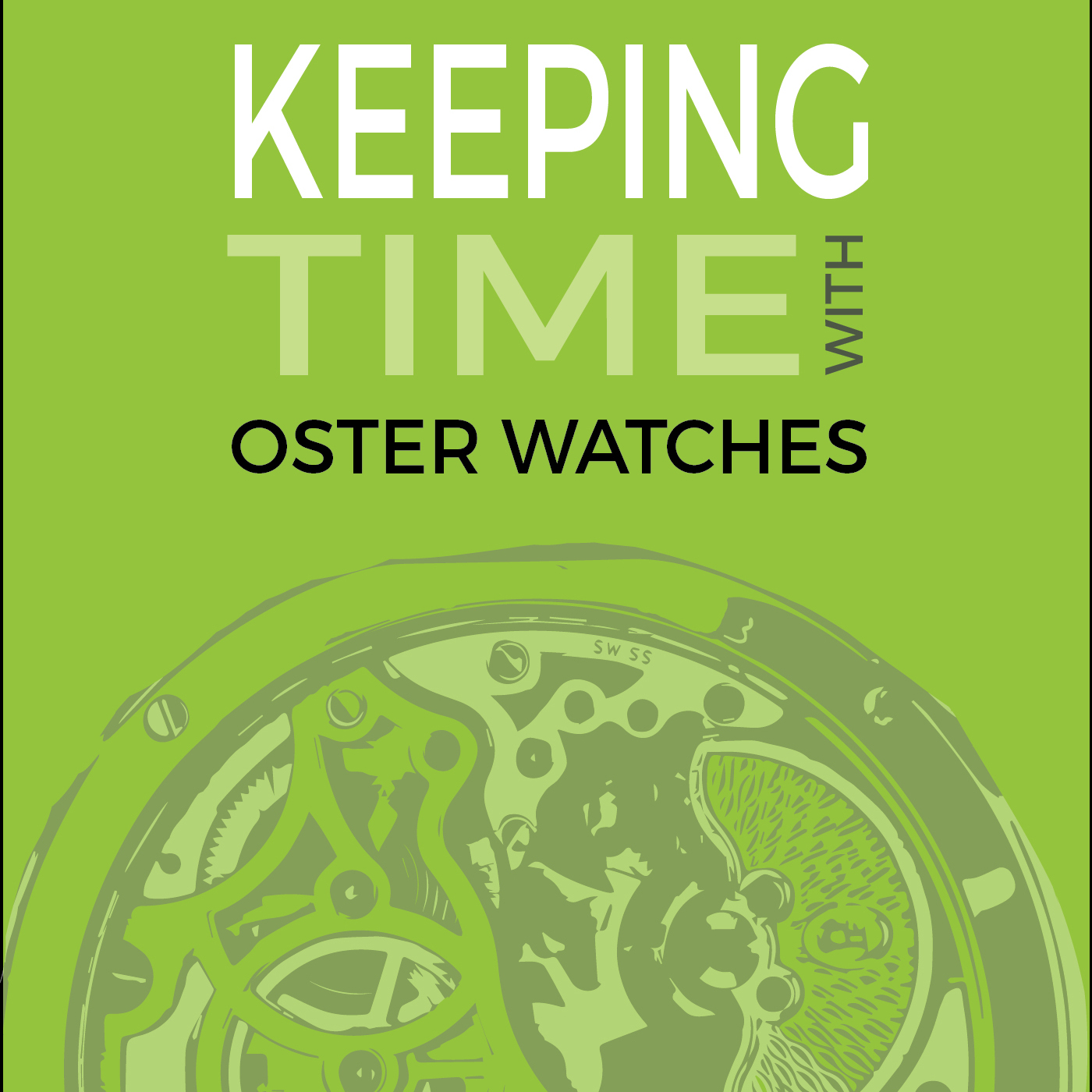 Keeping Time With Oster Watches show art