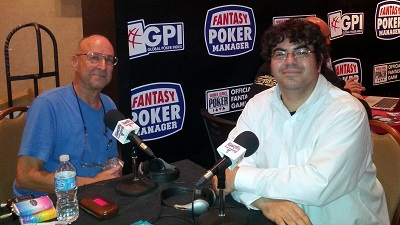 EPISODE 123-- WSOP JULY 2013--ED MILLER TALKS ABOUT POKER AND DOUG HULL's NEW BOOK POKER PLAYS YOU CAN USE