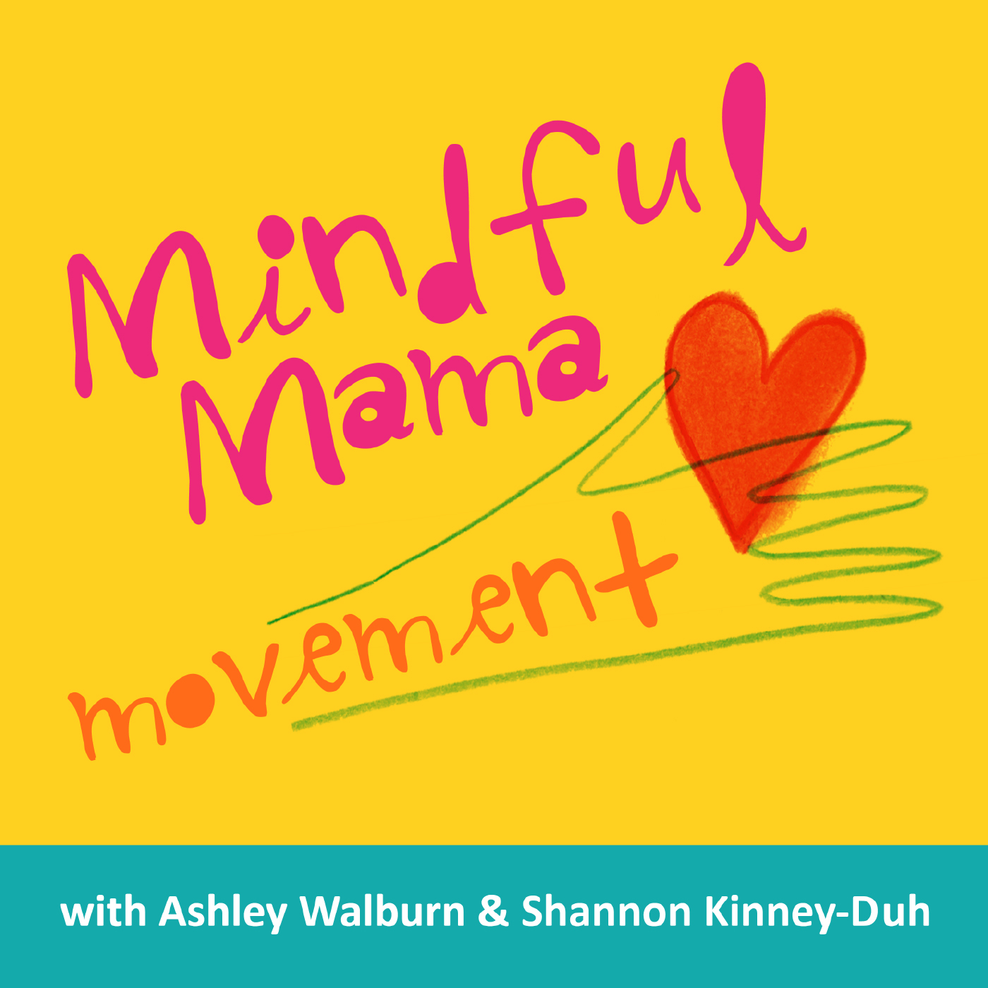 Mindful Mama Movement Podcast logo