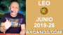 Artwork for HOROSCOPO LEO - Semana 2019-26 Del 23 al 29 de junio de 2019 - ARCANOS.COM