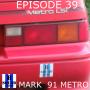 Artwork for Episode 0039 - Door Mods, Fuel Injection and Eleanor's Weight