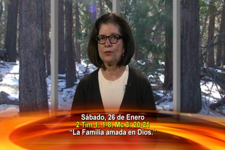 """Artwork for Dios te Habla con Maria Eva Hernandez; Tema el hoy: """"La Familia amada en Dios."""""""
