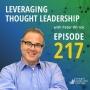 Artwork for Leveraging Thought Leadership | Michael Watkins | 217