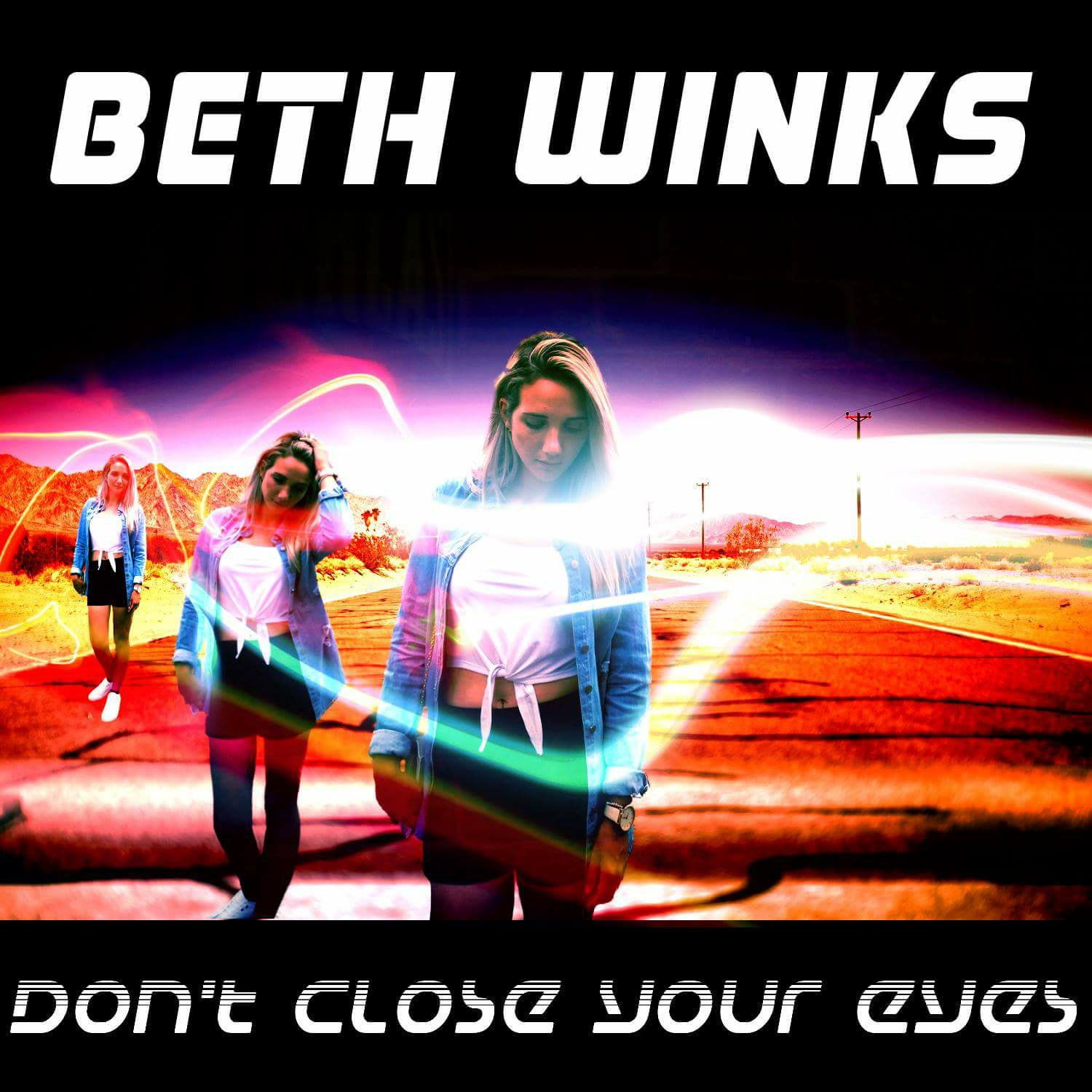 Beth Winks - New Track called 'Don't Close Your Eyes'