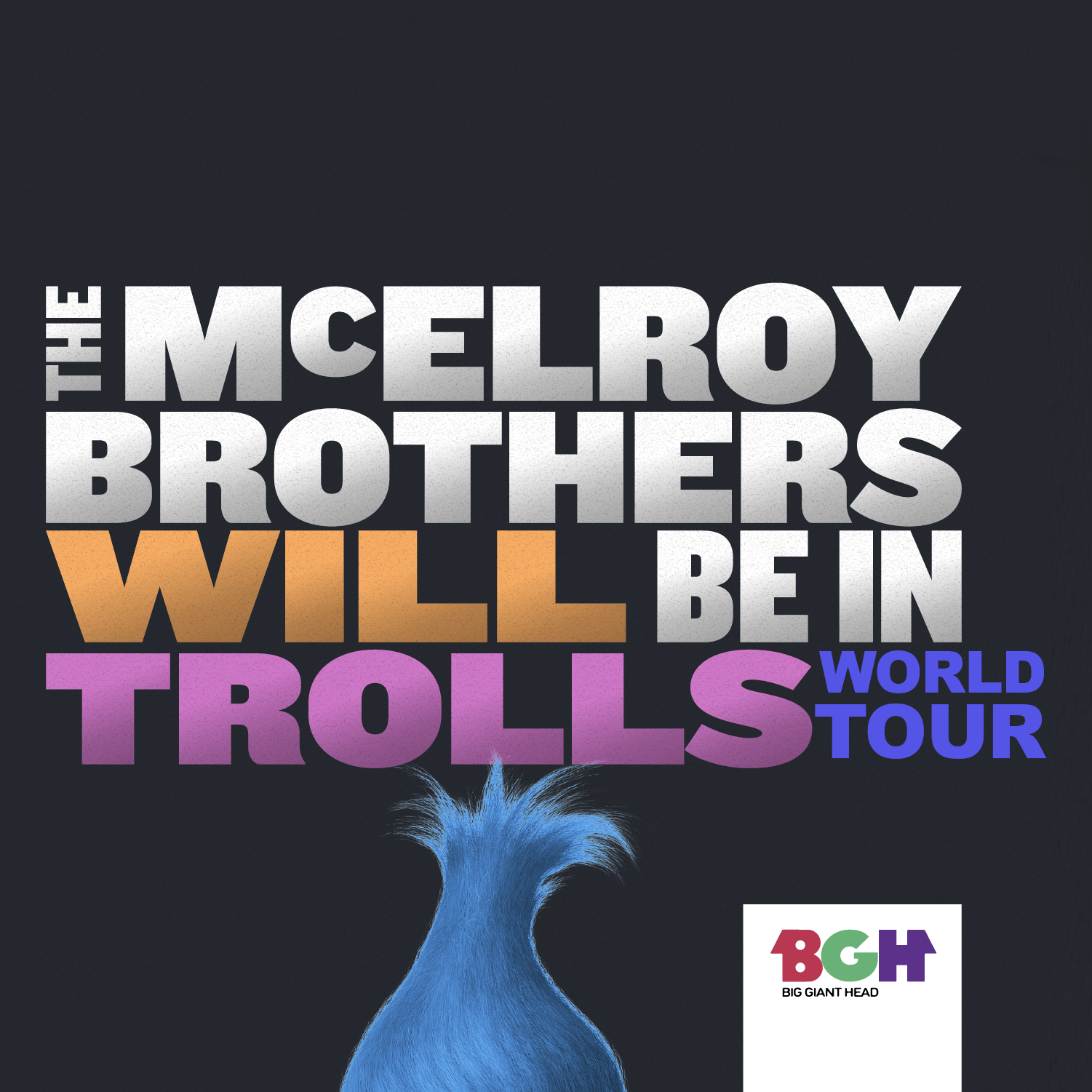 The McElroy Brothers Will Be In Trolls World Tour show art