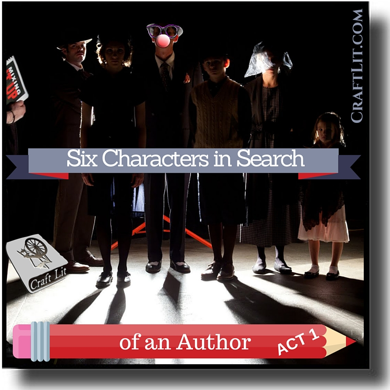 Artwork for Act 1 - Six Characters in Search of an Author