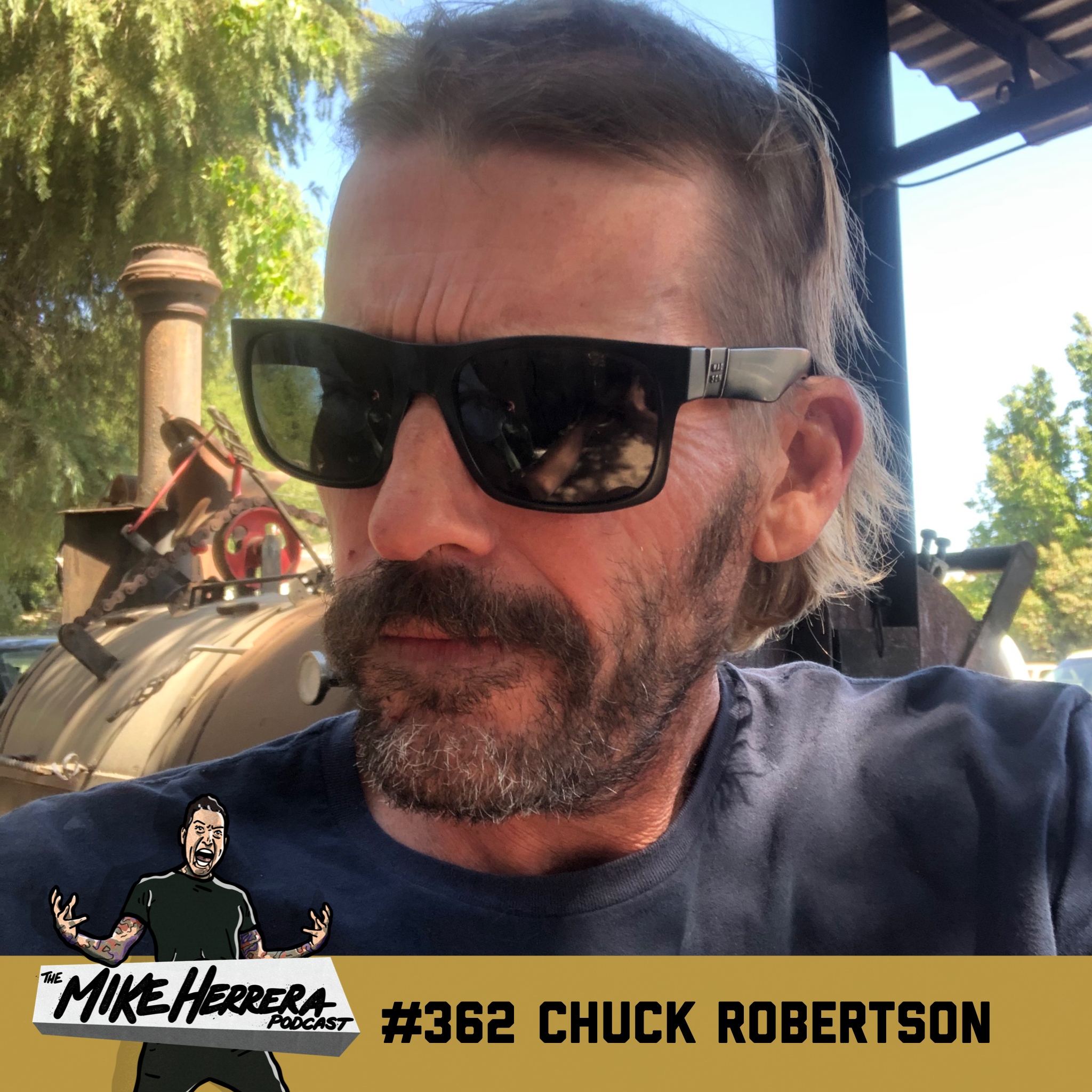 #362 with Chuck Robertson on Mad Caddies and new solo music