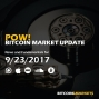 "Artwork for PoW Bitcoin: ""Confidence Returns to Bitcoin"" - 9/23/2017"
