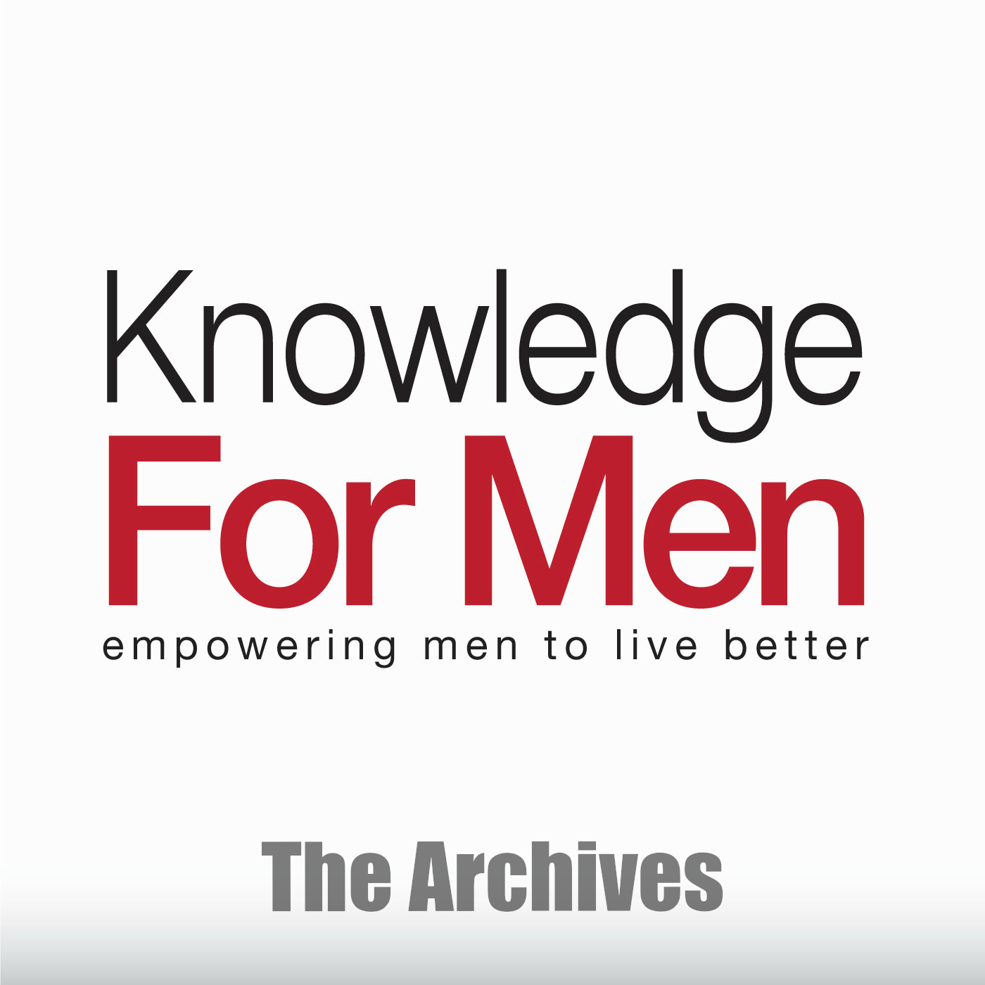 Knowledge For Men Archives show art