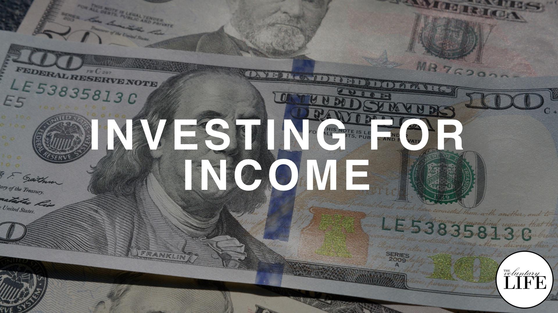 Bonus Episode 90 Investing For Income