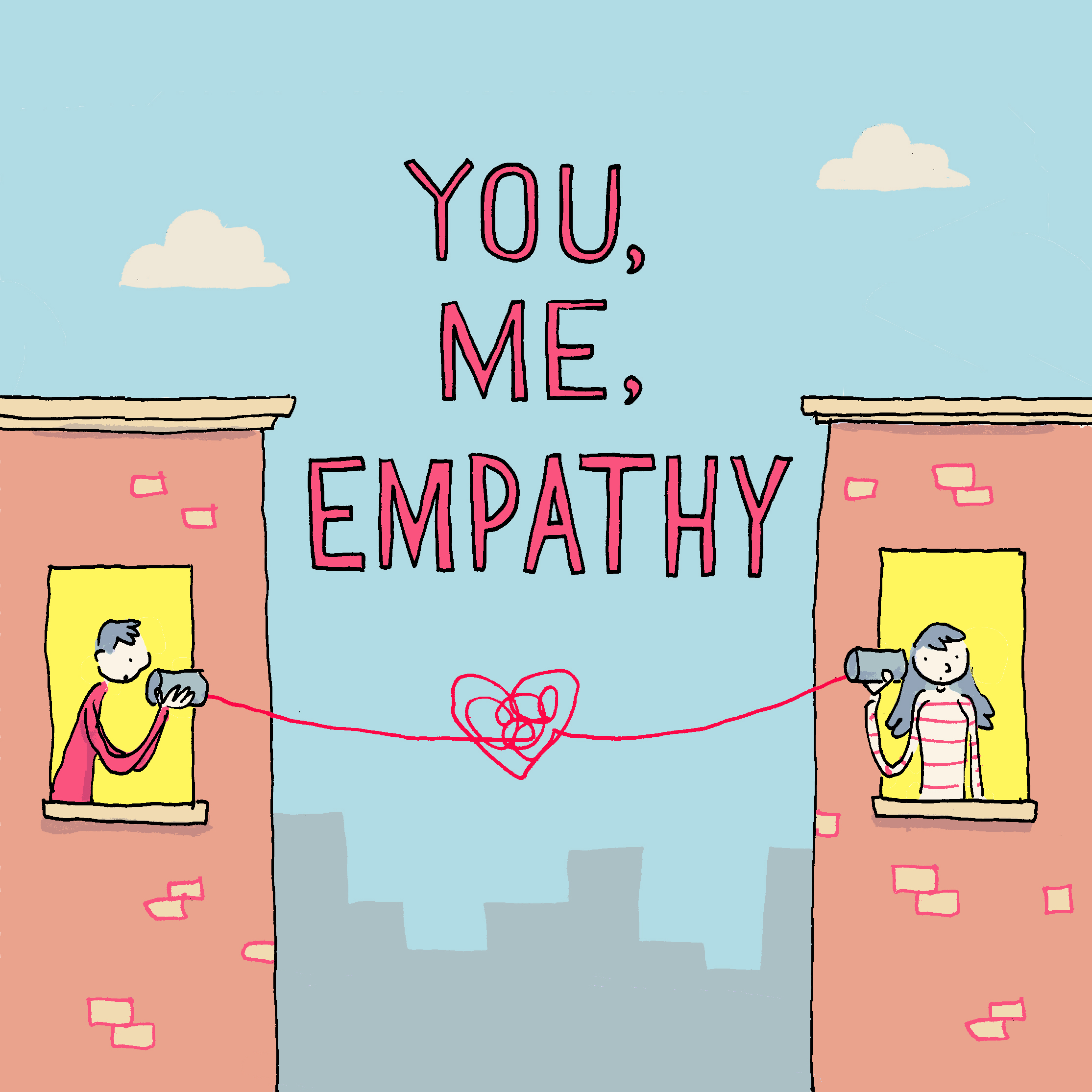 You, Me, Empathy: Sharing Our Mental Health Stories show art