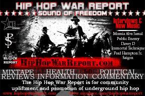 Hip Hop War Report Episode 11 (Health Cast- Mumia Abu Jamal, KhaazRa MaaRanu)