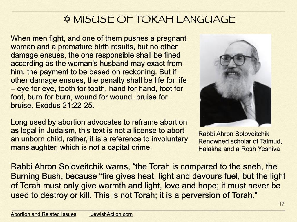 Misuse Of Torah Language