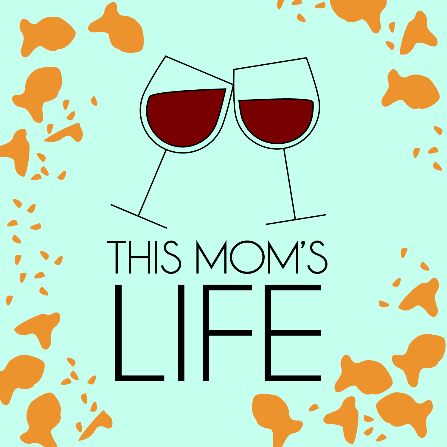 This Mom's Life show art