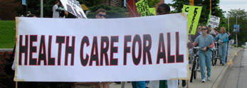 Local Single Payer Healthcare Action & Kansas City WMD Gets Rubberstamped Again
