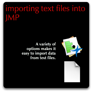 JMP Importing Text Files