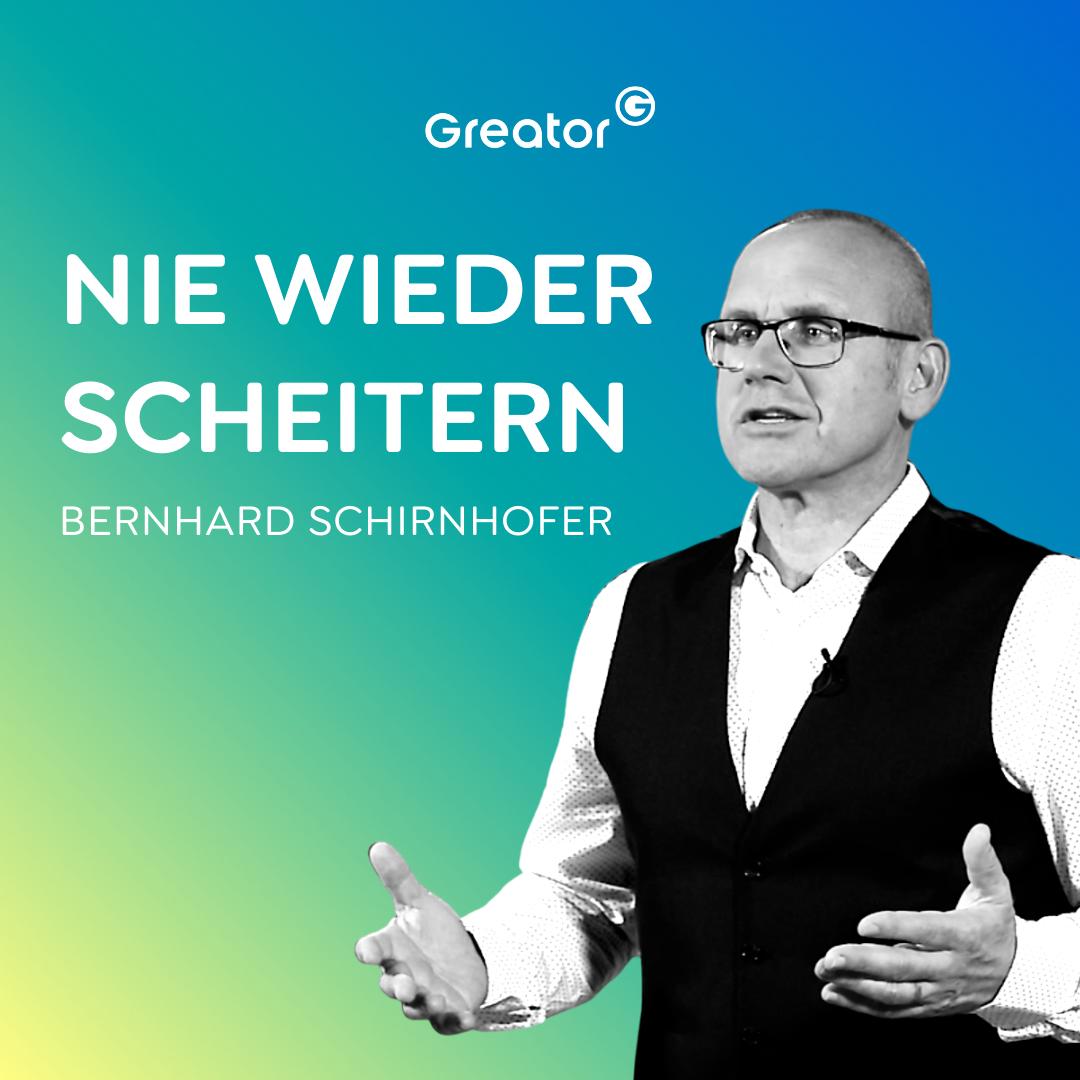 #754 So schaffst du es, deine Ziele zu verwirklichen // Bernhard Schirnhofer