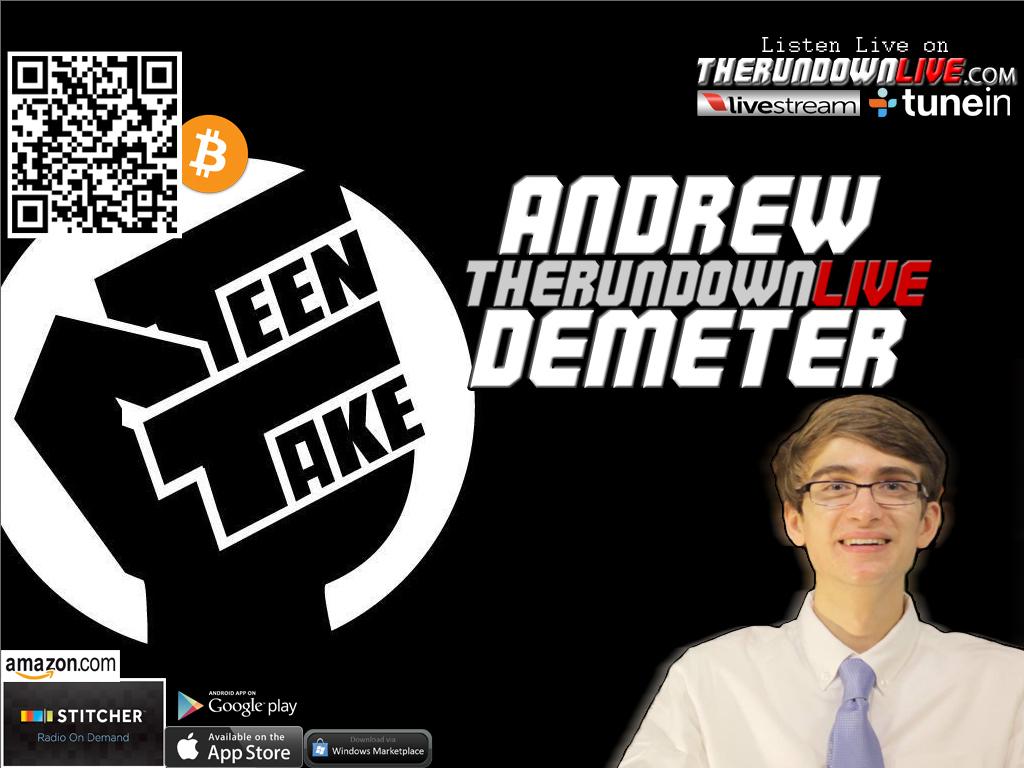 The Rundown Live #282 Andrew Demeter (Pelosi,Media,Confidence,Iraq)