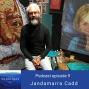 """Artwork for 9. Jandamarra Cadd, Aboriginal Artist – """"Beyond the Dots"""""""