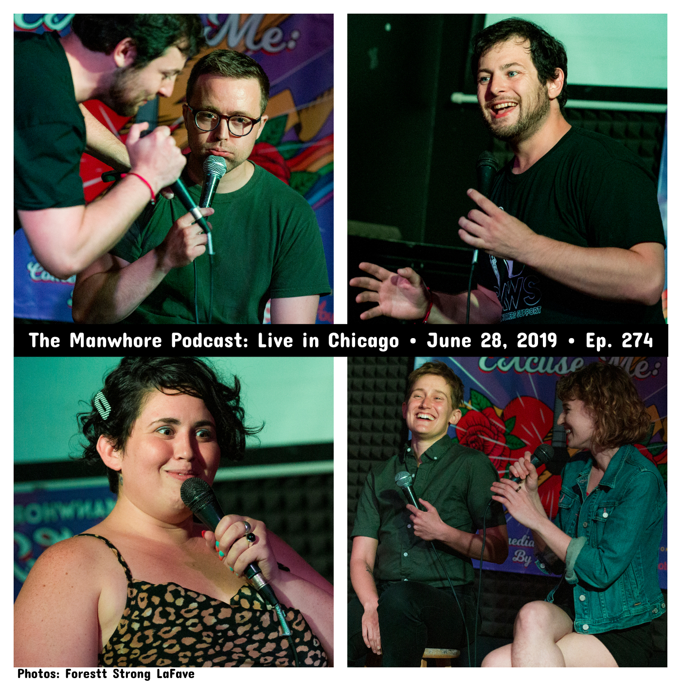 """The Manwhore Podcast: A Sex-Positive Quest - LIVE from Chicago: """"How many women have you disappointed?!"""" (Ep. 274)"""