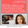 Artwork for E045 - Shattered + Broken = Gold. Bestselling author, Rani St. Pucchi explains why not perfect is…well…perfect