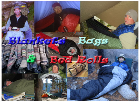 Episode 126 Blankets, Bags & Bed Rolls