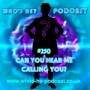 Artwork for Who's He? Podcast #250 Can you hear me calling you?