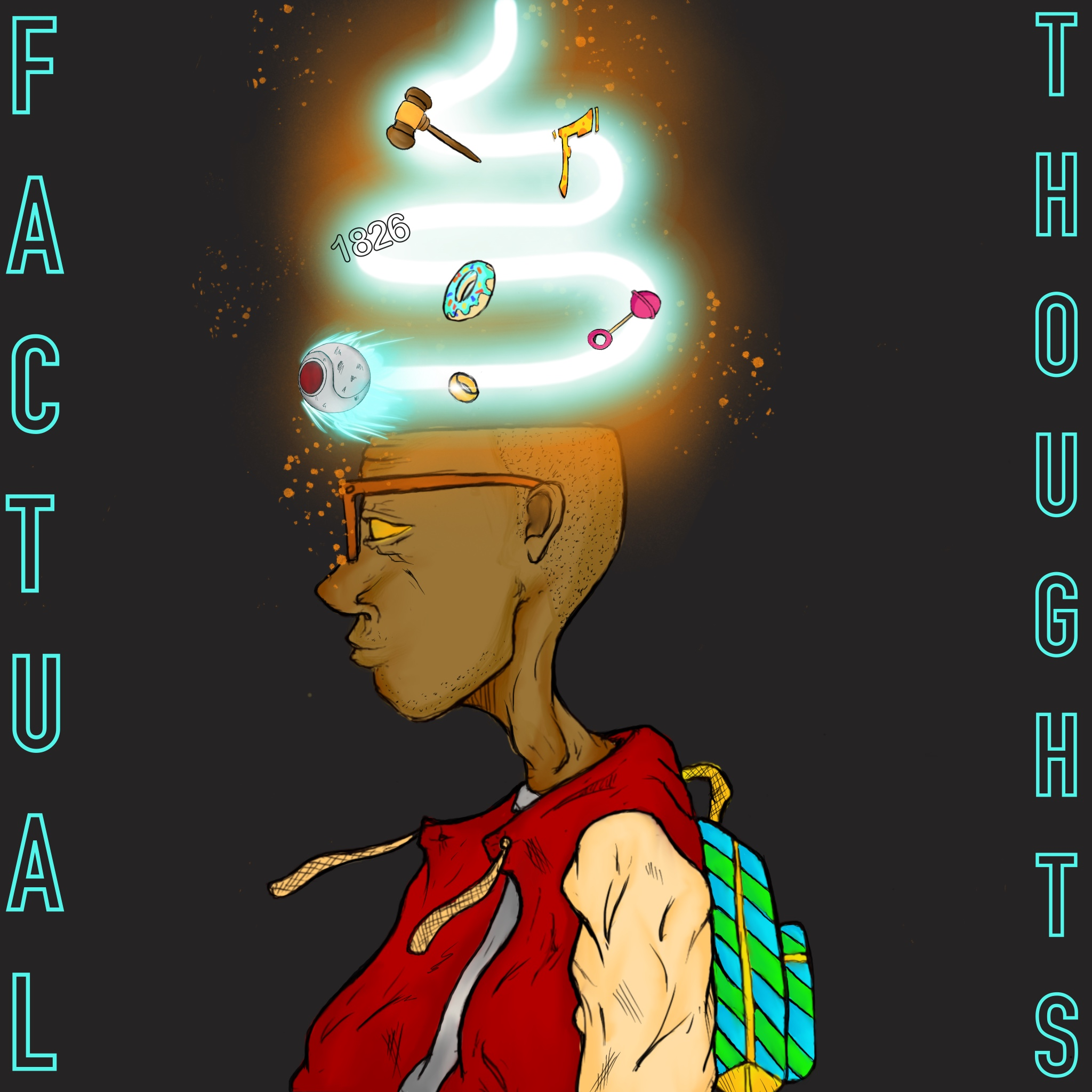 Factual Thought's show art