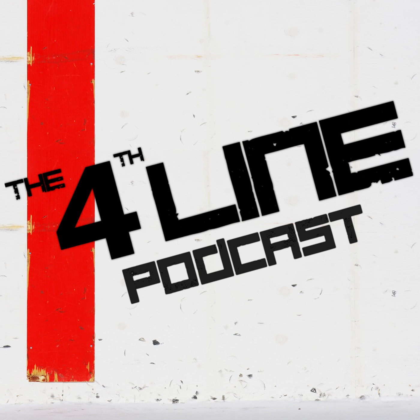 The 4th Line Hockey Podcast show art