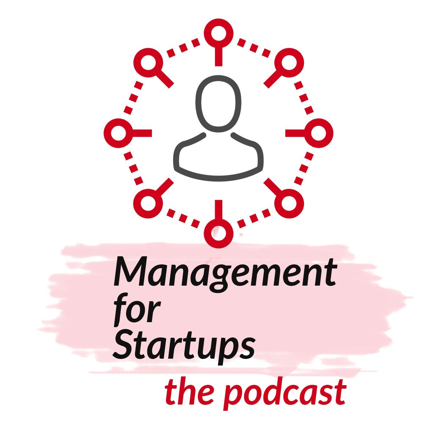 Management For Startups Podcast show art
