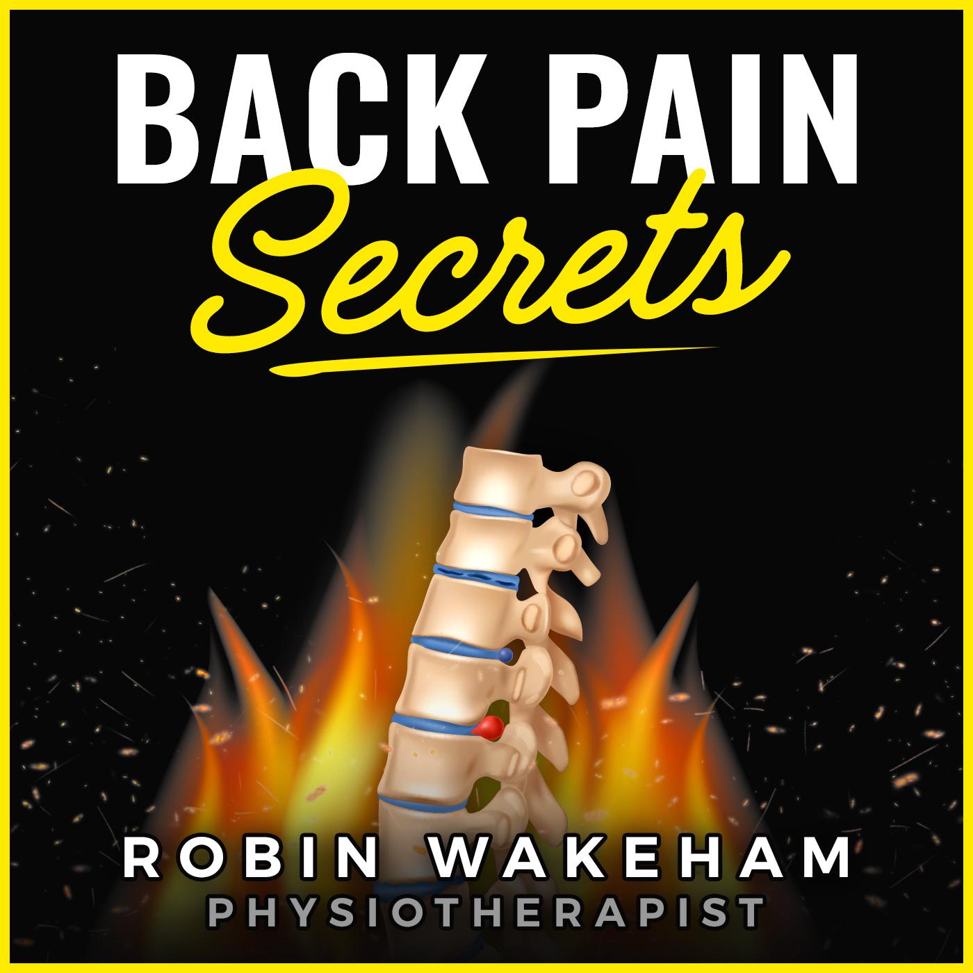Back Pain Secrets Podcast show art