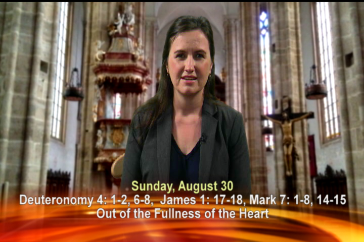 Artwork for Sunday, August 30th Today's Topic: Out of the Fullness of the Heart