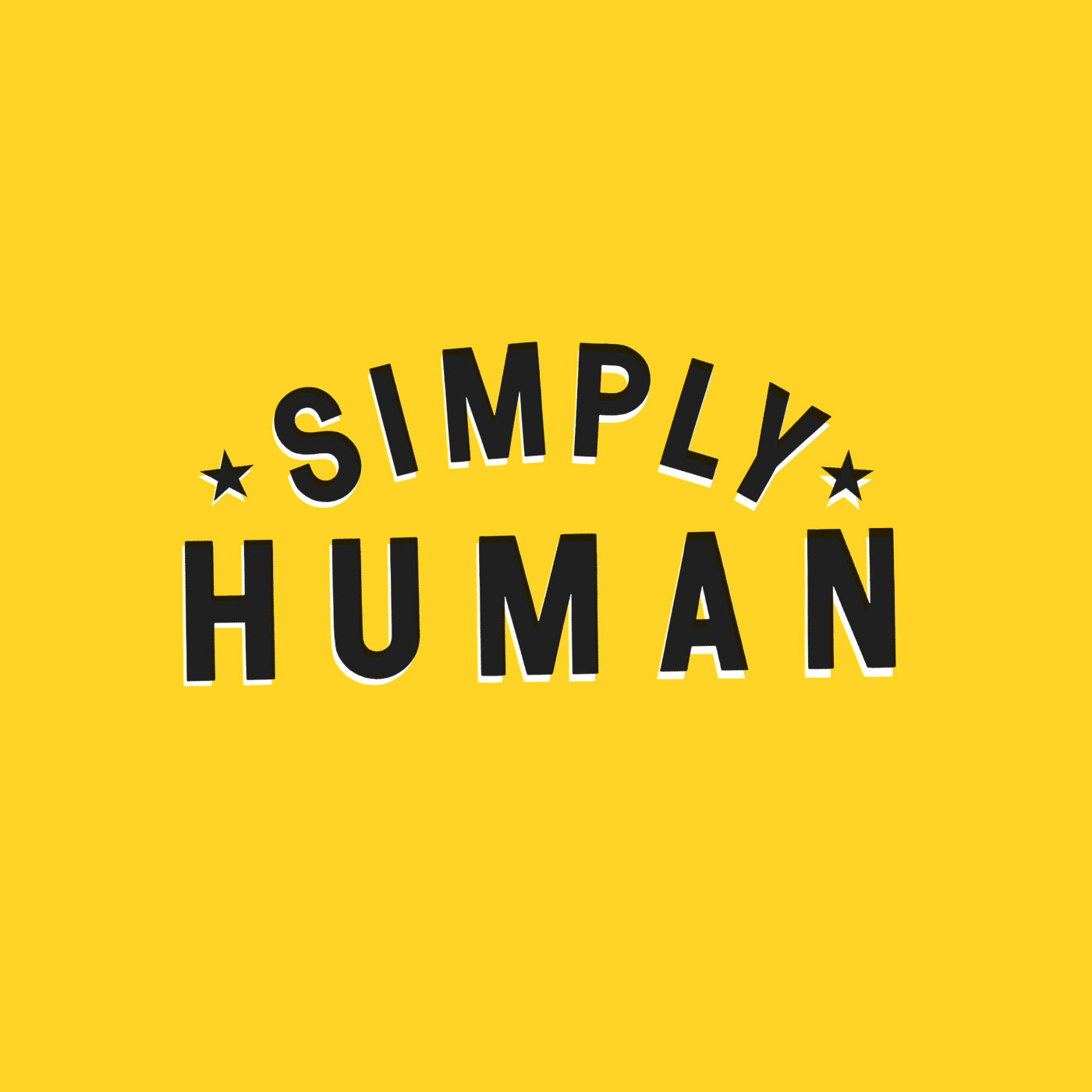 The Simply Human Podcast --  Simple Fitness, Nutrition, Exercise, Wellness, Fitness and Fat loss advice for improving your health logo