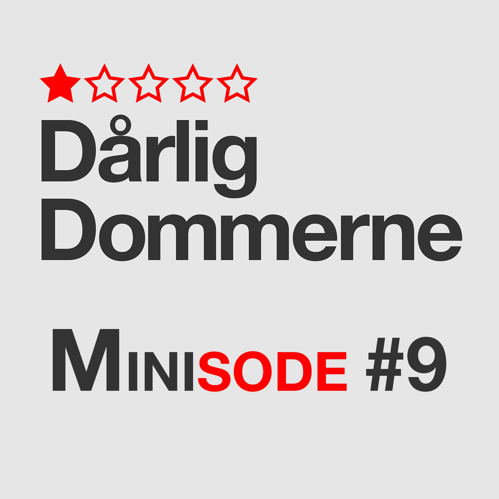 Artwork for Dårligdommerne Minisode 9