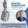 Artwork for Episode #26: Connecting to Win More Home Sales - Quint Lears