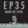 """Artwork for 35: Mark de Silva & """"Less than Zero"""""""