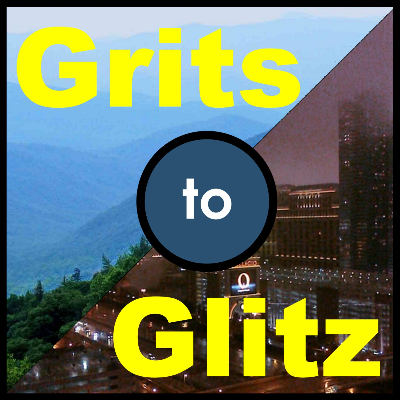 Grits to Glitz show art
