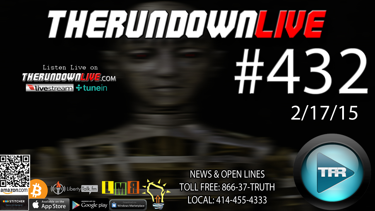 The Rundown Live #432 Open Lines (AI,Ebola Fashion,Police Safety Flyers)