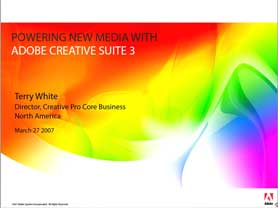 Introducing Adobe Creative Suite 3