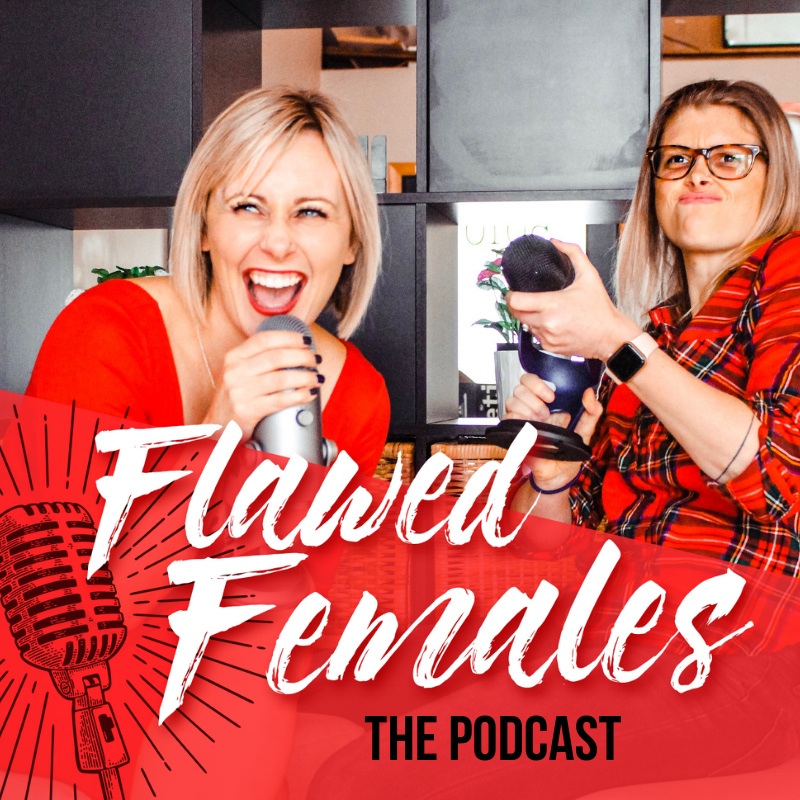 The Flawed Females Podcast show art