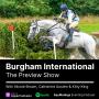 Artwork for Burgham Preview Show 2020
