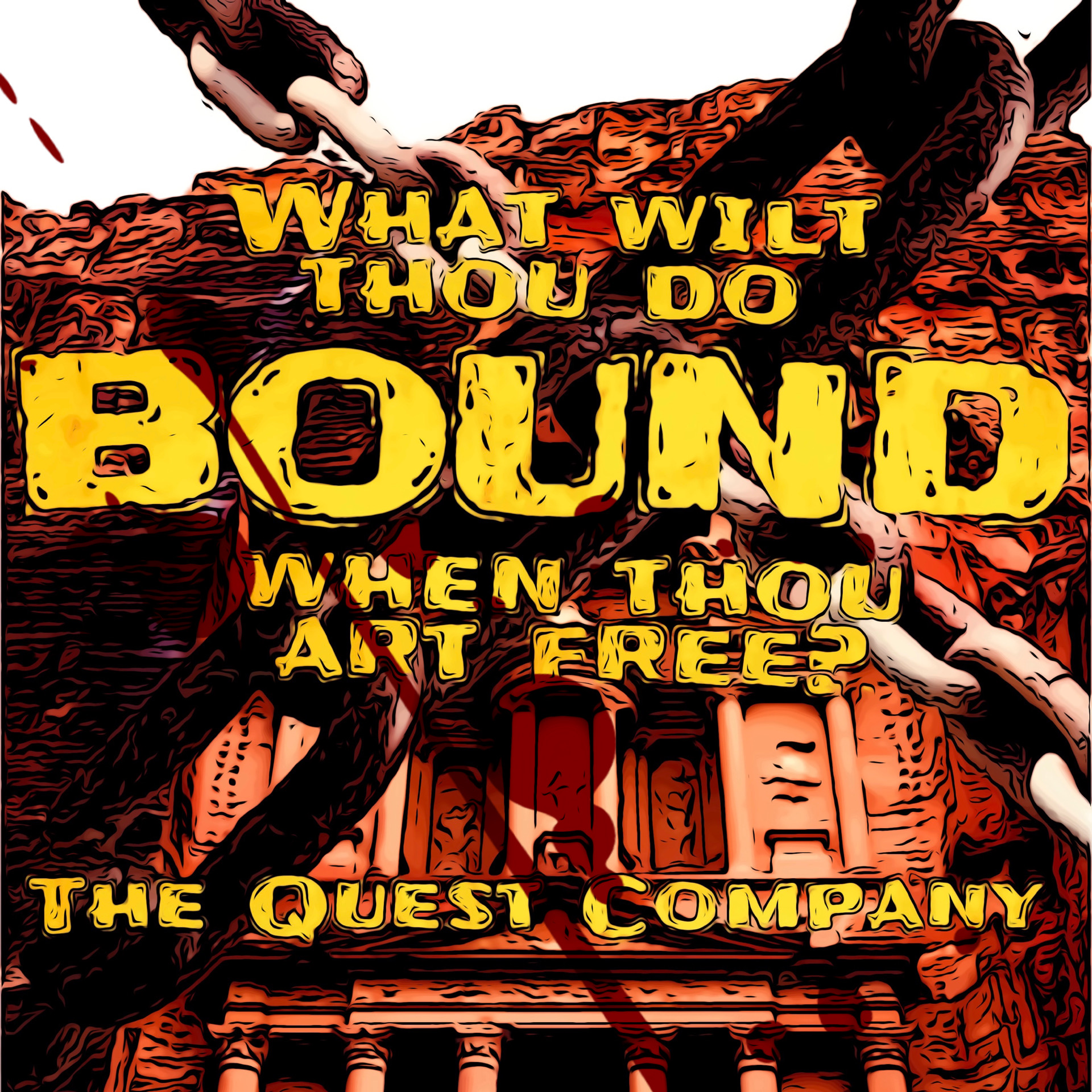 BOUND - III - The Bastard show art
