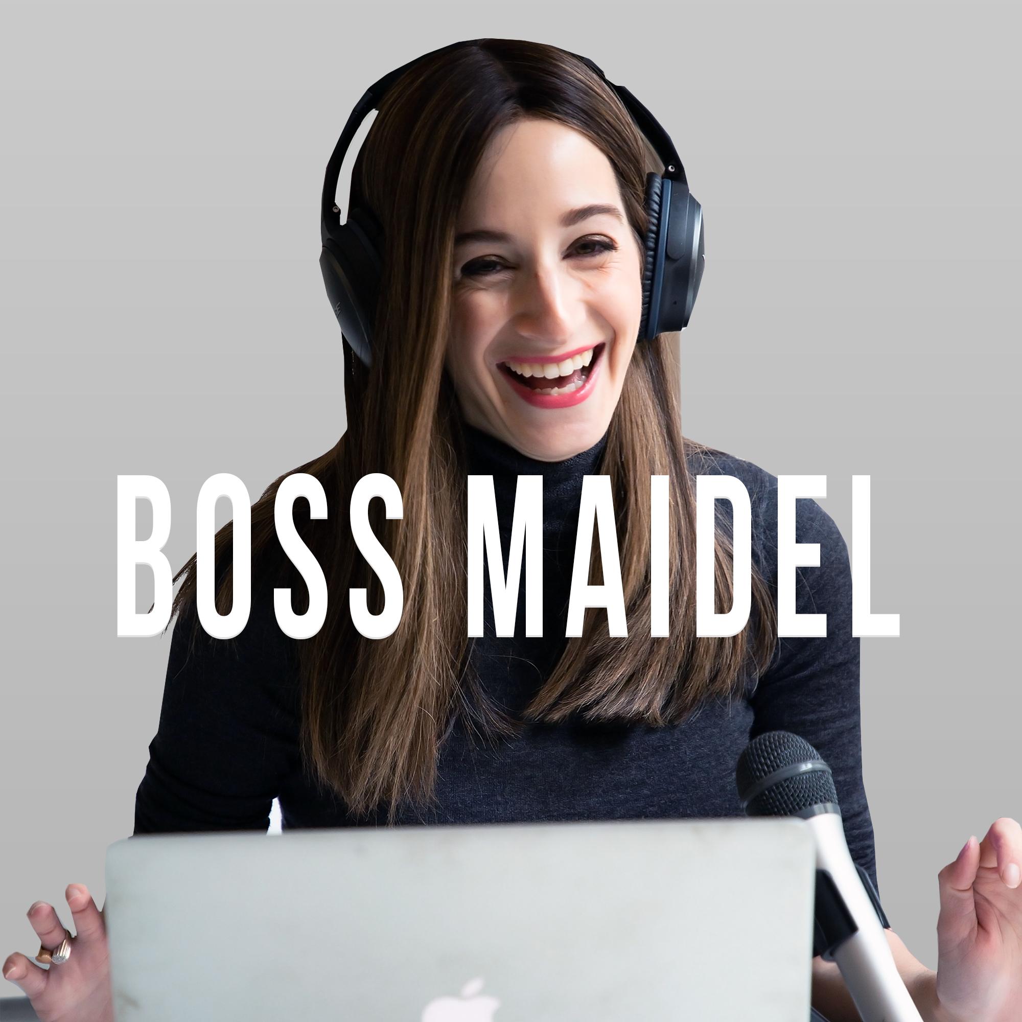Boss Maidel Podcast show art