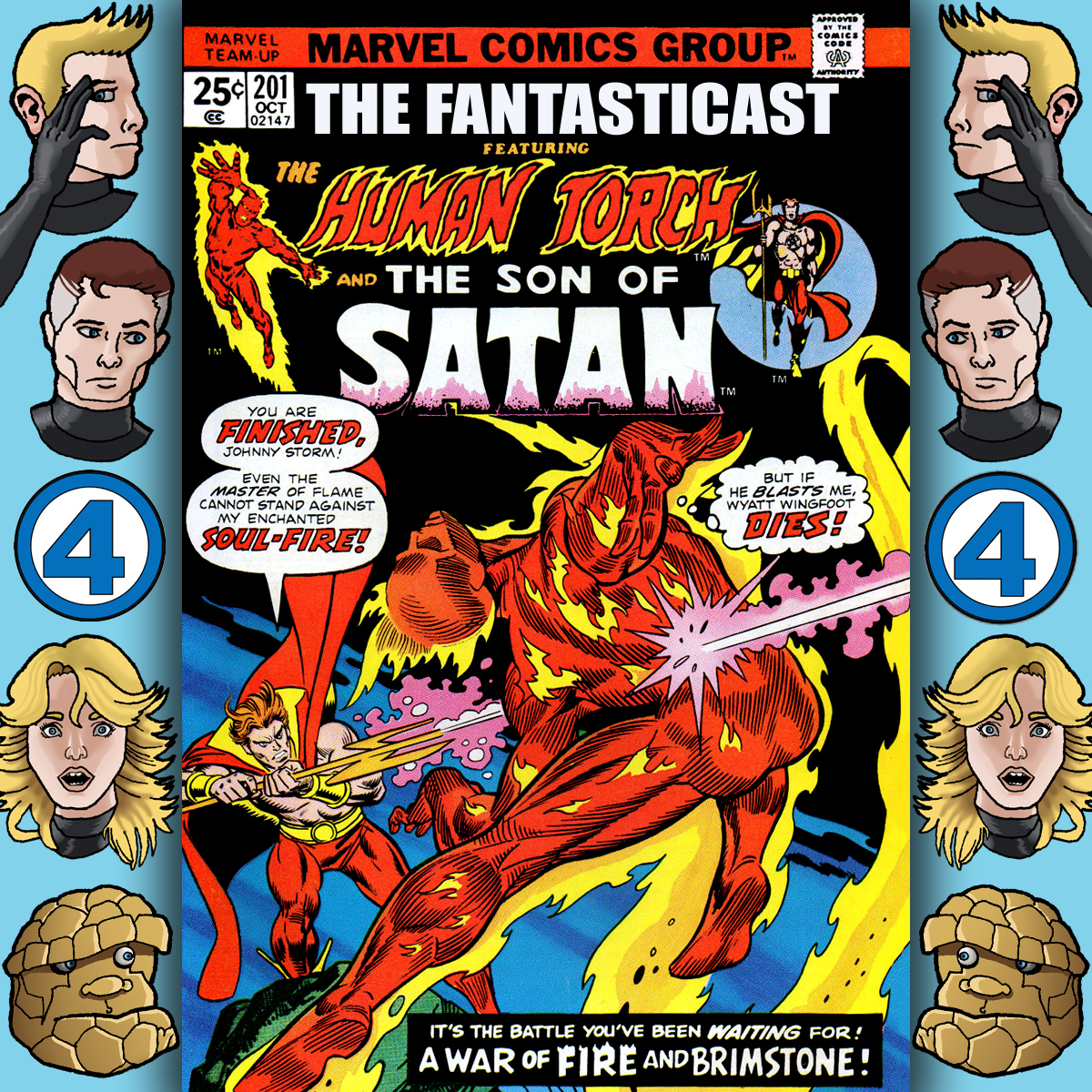 Episode 201: Marvel Team-Up #32 - All The Fires In Hell...
